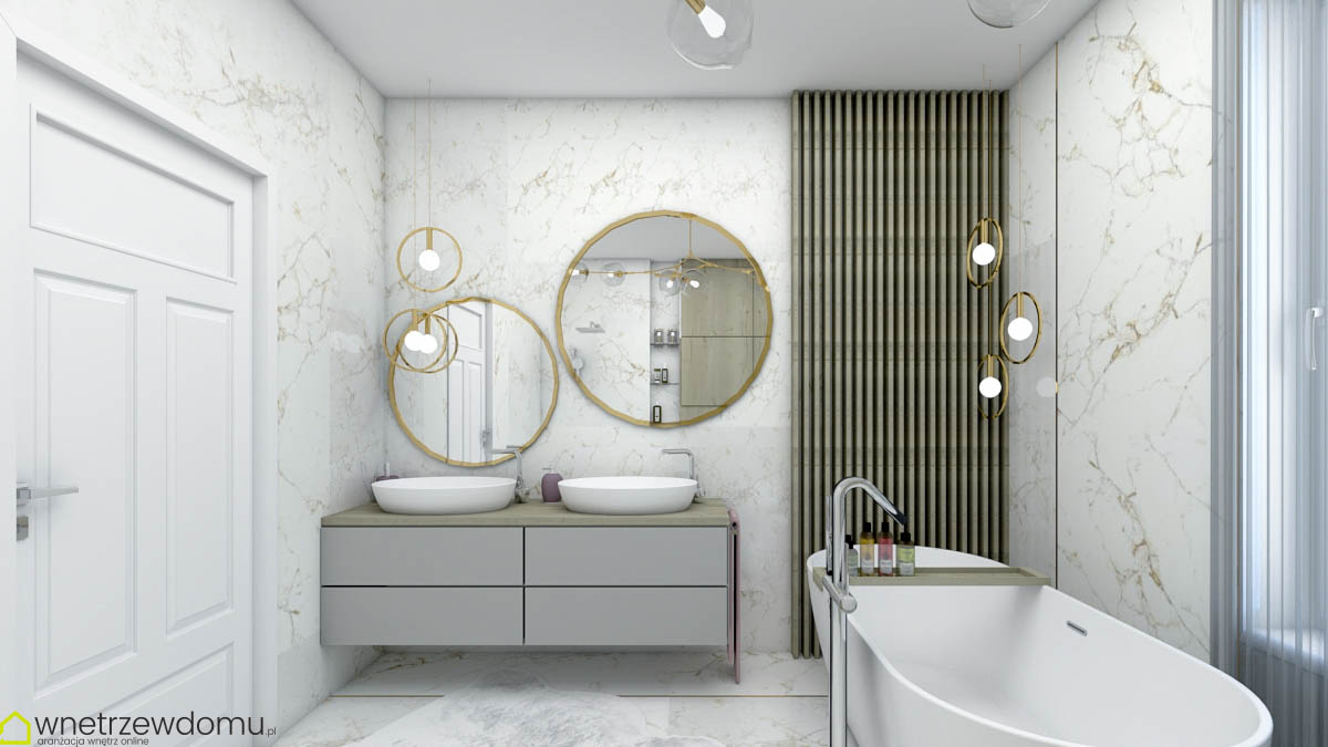 łazienka glamour