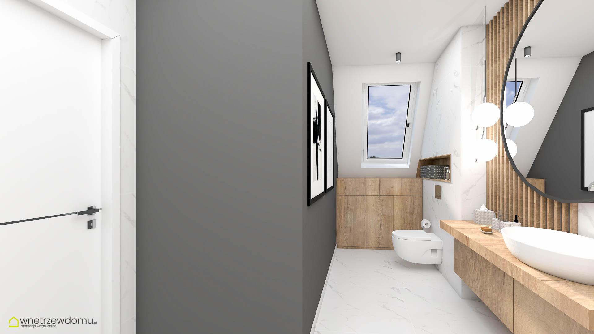 wiz-001 łazienka wnetrzewdomu