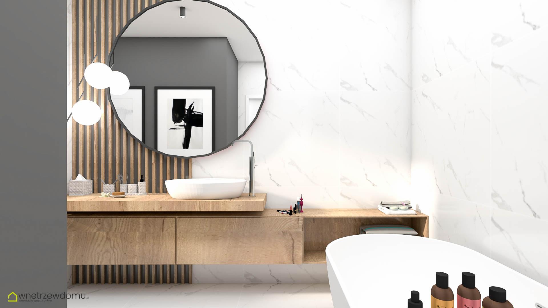 wiz-005 łazienka wnetrzewdomu