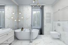 nowoczesna jasna łazienka