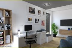 nowoczesny pokój dla chłopca