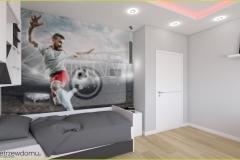 pokój dla chłopca piłka nożna
