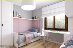 przytulny pokój dla dziewczynki
