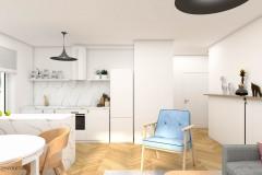 1_wiz-001-salon-z-kuchnią-i-holem-wnetrzewdomu