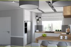 kuchnia w salonie