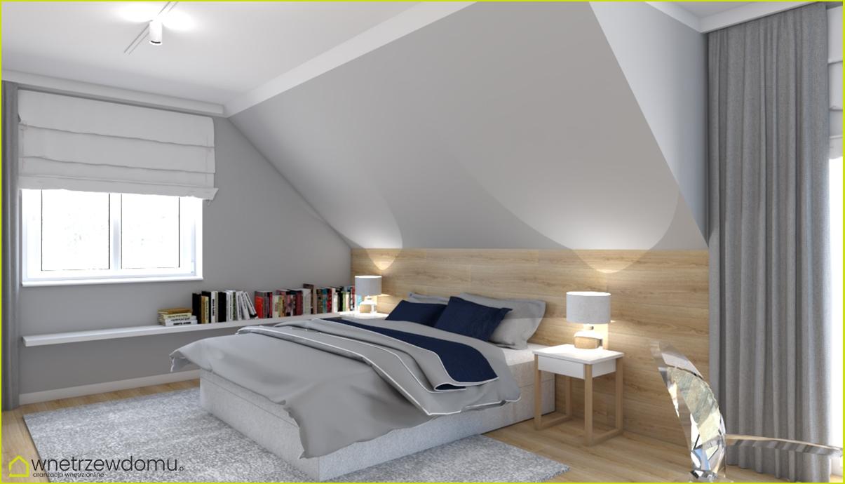 Sypialnia Ze Skosami Q Housepl