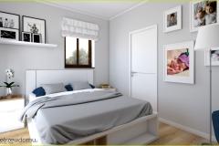 jasna przestronna sypialnia