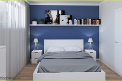 niebieska-ściana-w-sypialni